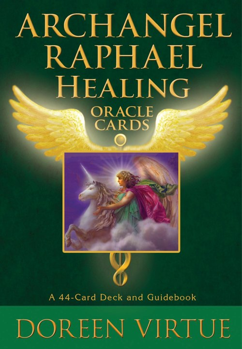 Archangel Raphael Healing Oracle Cards Doreen Virtue