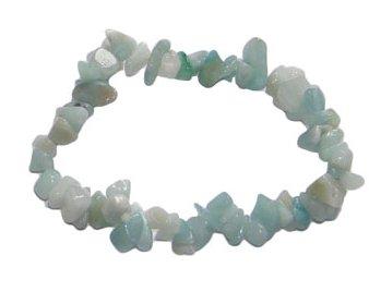 amazonite chip bracelet healing