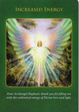 Archangel Raphael Healing Oracle Cards-Doreen Virtue ...