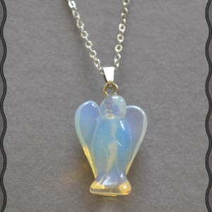 angel pendant crystal opalite