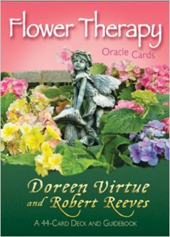 flower therapy oracle cards doreen virtue