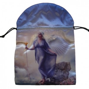 guiding light angel tarot card bag