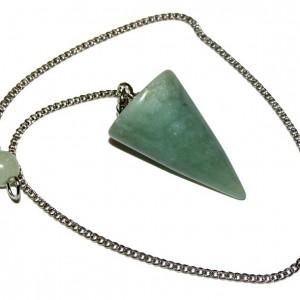 light green jade pendulum