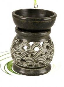 celtic knot soapstone oil burner