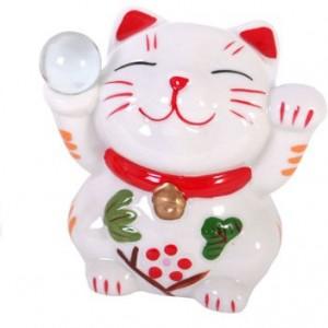 chinese money box cat