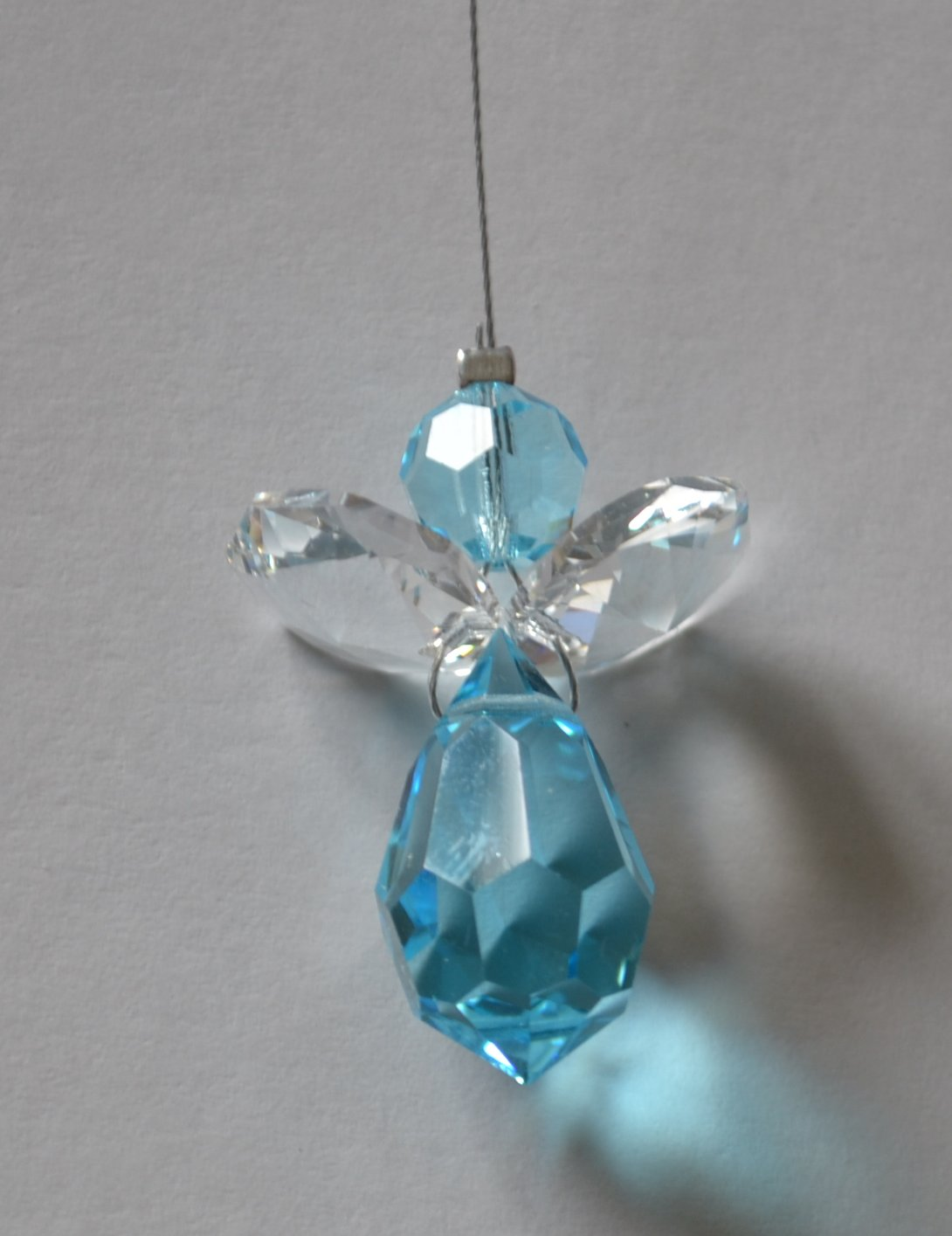 Small Window Crystal Angel (Blue Peace)