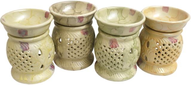 soapstone look ceramic oil burner