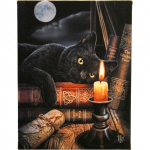 witching hour wall canvas
