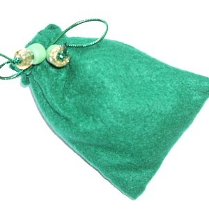 witches charm bag prosperity