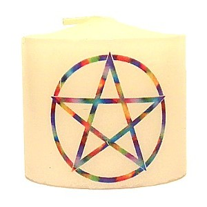 candle pentacle