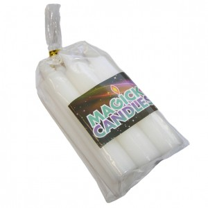 white magic spell candles