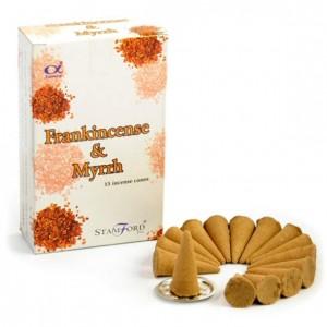 stamford frankincense myrrh incense cones