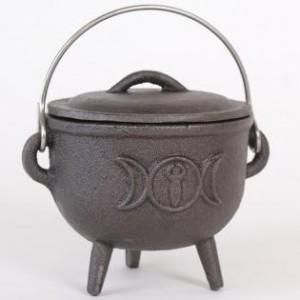 triple moon cauldron