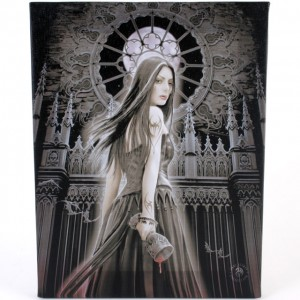 gothic siren canvas picture