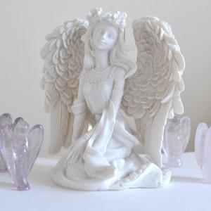 white elegance angel
