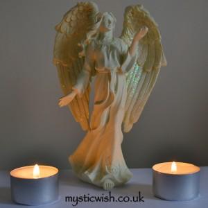 cream angel take my hand