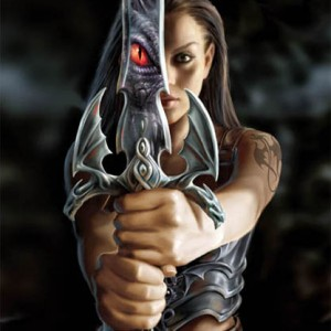 wall canvas anne stokes