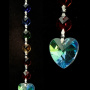 feng shui crystal string unconditional love