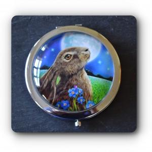 Mirror moongazing hare