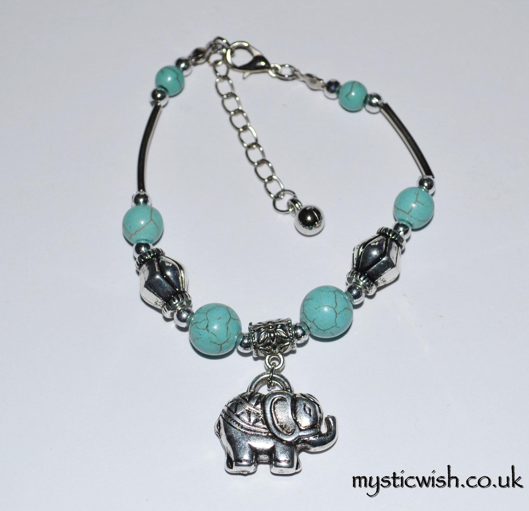 Lucky Elephant Charm Elephant Charm Bracelet Mysticwish