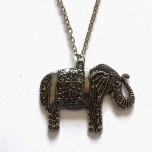 lucky elephhant necklace