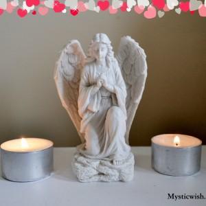 Angel Hands together