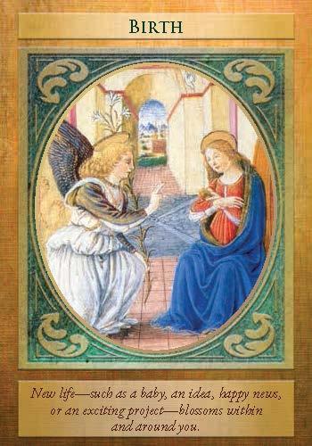 Angel Gabriel Oracle Cards Mystic Wish