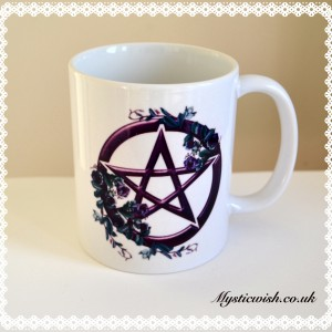 super natural mug cup pentacle
