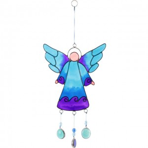 windchime blue angel