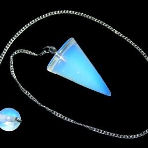 cone pendulum opalite
