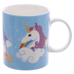 cup unicorn rainbow