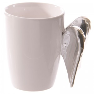 wings angel cup silver