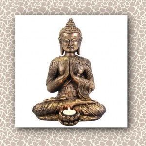 buddha candle tealight holder