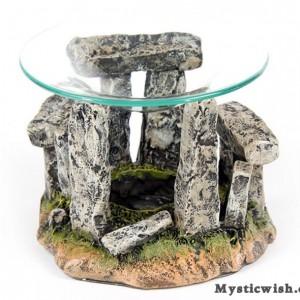 burner for oil stone henge