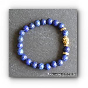 Bracelet Buddha lapis