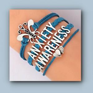awareness anxiety bracelet
