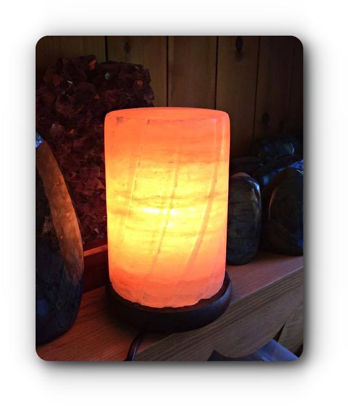 Do Salt Lamps Help With Depression : Cylinder Salt Lamp (Mood Enhancing) Mystic Wish