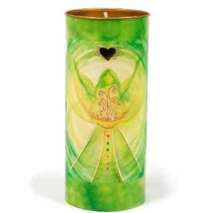 affirmation candle angel of fortune
