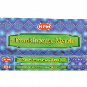 hem frankincense and myrrh incense sticks
