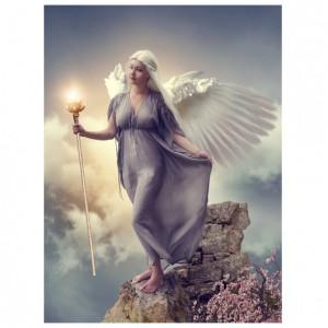 guiding light greetings card