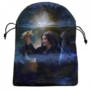 message bearer satin angel tarot bag