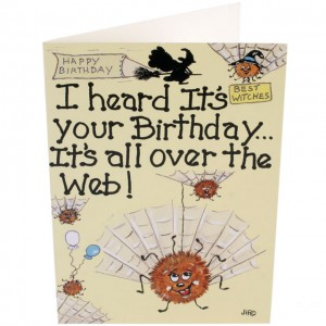 birthday web smiley card