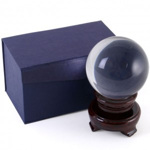 8cm crystal ball gift box