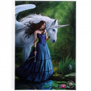enchanted pool unicorn wall plaque