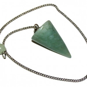 light green jade pendulum