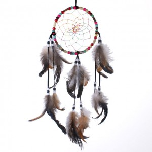 muticoloured dream catcher