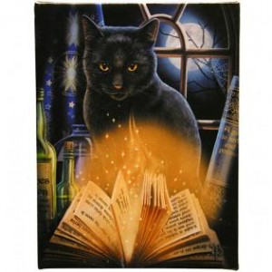 bewitched wall canvas