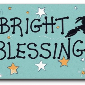 bright blessings fridge magnet