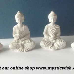 buddha ceramic figure