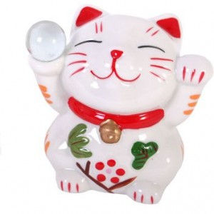 chinese money box cat